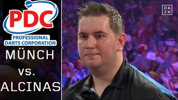 Darts WM Kevin Münch - Toni Alcinas