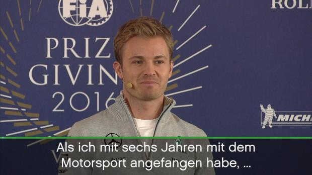F1: Unter Tränen! Rosbergs Abschieds-PK