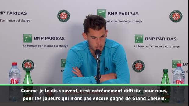 """Basket : Roland-Garros - Thiem - """"Face à Djokovic, le défi est énorme"""""""