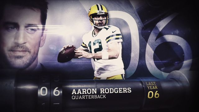 'Top 100 Players of 2017': No. 6 Green Bay Packers quarterback Aaron Rodgers