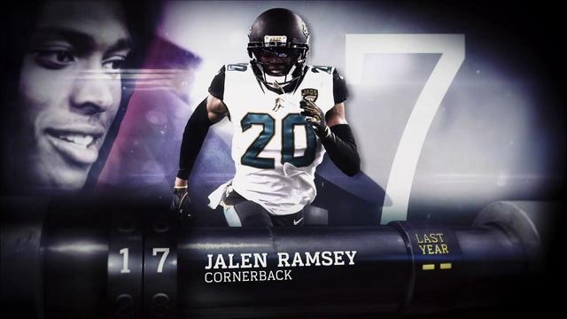 'Top 100 Players of 2018': Jacksonville Jaguars cornerback Jalen Ramsey | No. 17
