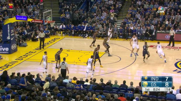 WSC: Klay Thompson scores 60 points in win over the Pacers