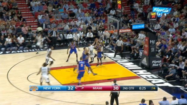 GAME RECAP: Knicks 114, Heat 103