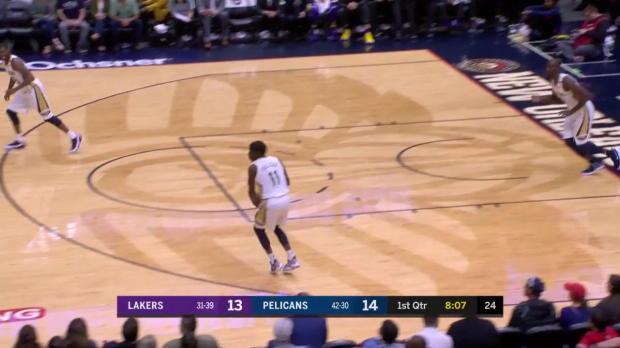 WSC: Kyle Kuzma (22 points) Highlights vs. New Orleans Pelicans, 03/22/2018