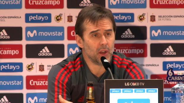 Spanien: Lopetegui schwärmt vom DFB-Fußball