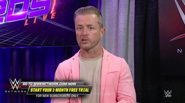 Drake Maverick announces a Gauntlet Match: WWE 205 Live, April 17, 2018