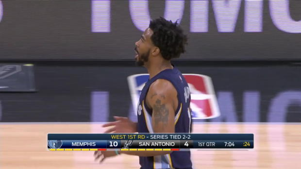 WSC: Mike Conley 26 points vs the Spurs