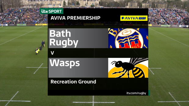 Aviva Premiership - Match Highlights - Bath Rugby v Wasps