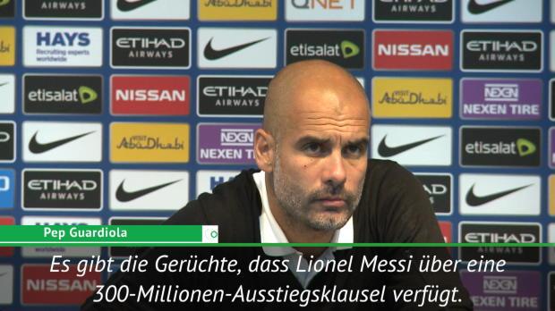 """Guardiola: Messi-Transfer """"könnte passieren"""""""