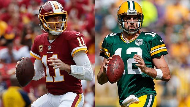 Peter Schrager: 'Forgotten' Washington Redskins quarterback Alex Smith has chance to prove doubters wrong versus Green Bay Packers quarterback Aaron Rodgers