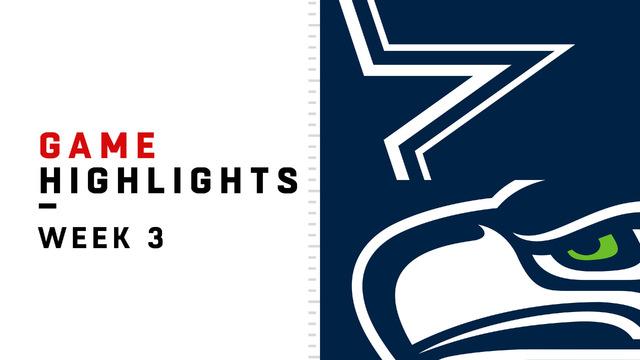 Cowboys vs. Seahawks highlights | Week 3