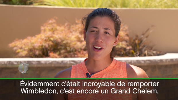 : Interview - Muguruza - 'Wimbledon me donne plus de motivation'