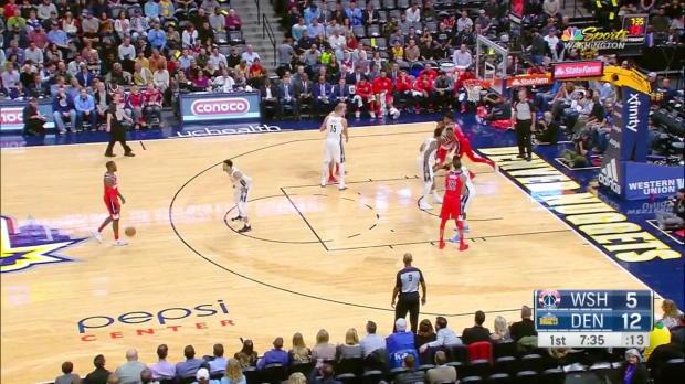 WSC: Bradley Beal (20 points) Game Highlights vs. Denver Nuggets