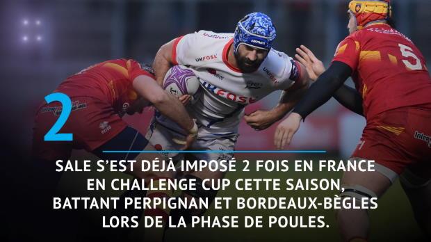Rugby : Demies - La Rochelle vs. Sale en chiffres