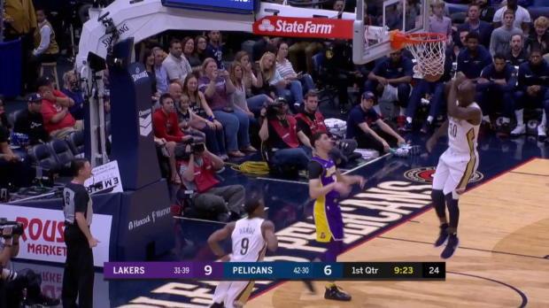 WSC: Rajon Rondo (24 points) Highlights vs. Los Angeles Lakers, 03/22/2018