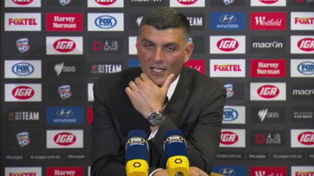 Brisbane Roar Rd23 press conference