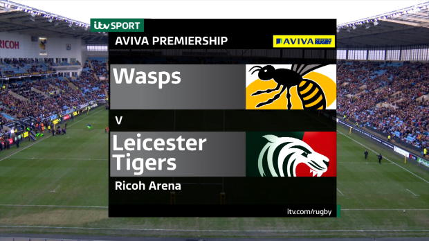 Aviva Premiership - Match Highlights - Wasps v Leicester Tigers