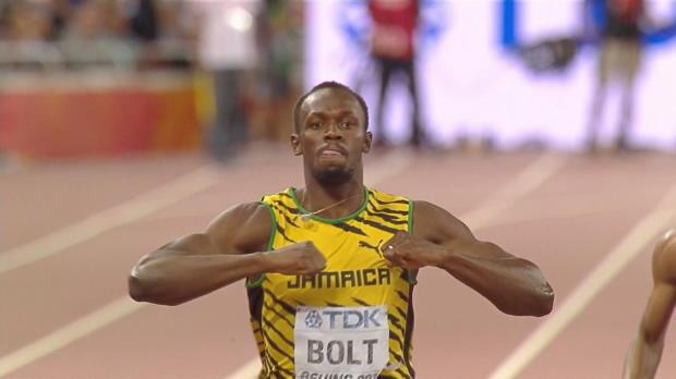 WM 2015: 10. Gold! Bolt rockt auch die 200m