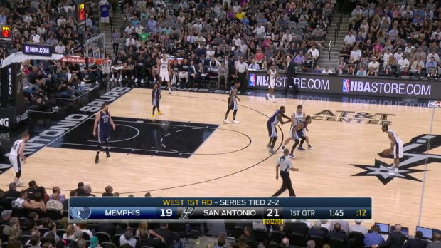 WSC: Kawhi Leonard 28 points vs the Grizzlies