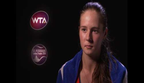 Kasatkina Interview: WTA St Petersburg QF