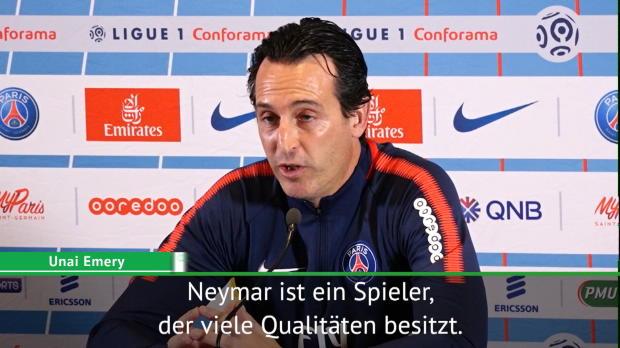 """Emery sicher: """"Neymar hat das Zeug dazu, ..."""""""
