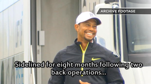 Woods continues road to recovery