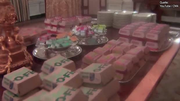Wegen Shutdown! Fastfood-Dinner im Weißen Haus