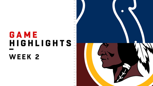 Colts vs. Redskins highlights | Week 2
