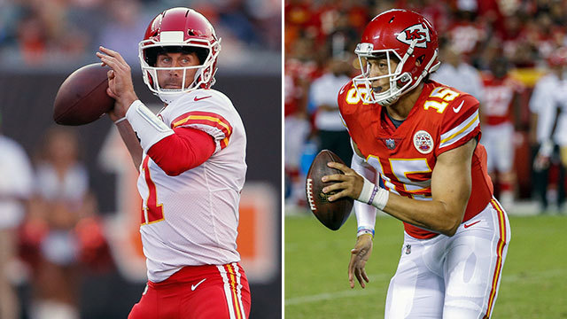 Ian Rapoport: Alex Smith 'entrenched' as starting QB in Kansas City