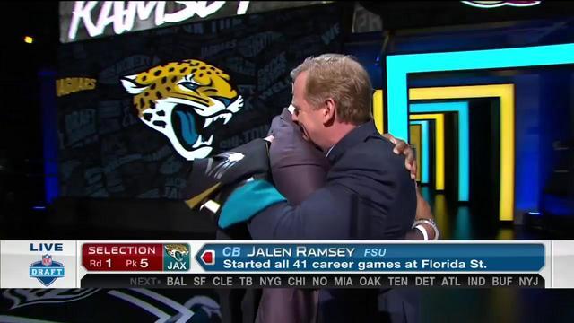 Video  Jaguars pick Jalen Ramsey No. 5 3e80251d8