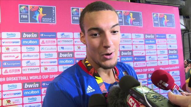 Basket : FIBA - Bleus - Gobert - ''On a cru en nous'
