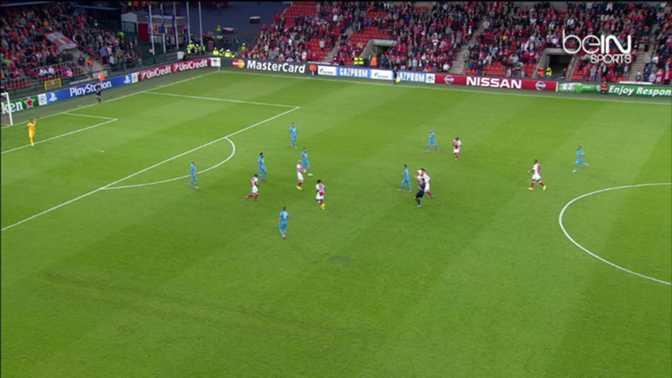 LdC : Standard de Liège 0-1 Zénith St-Petersbourg