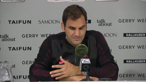 Halle: Federer über Comeback-Titel und Trainer