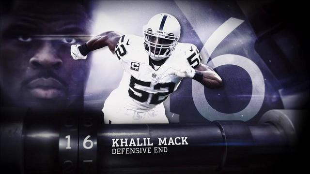 'Top 100 Players of 2018': Oakland Raiders defensive end Khalil Mack | No. 16