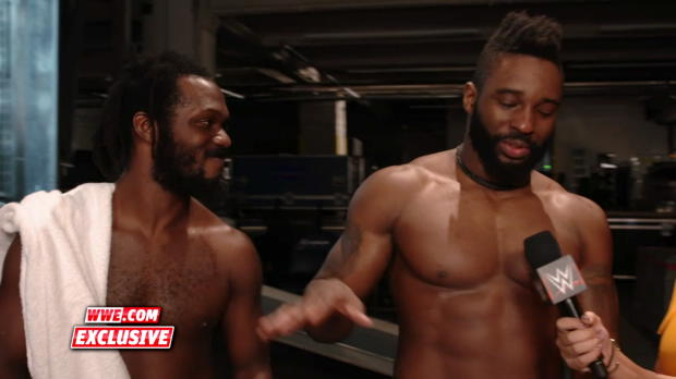 Jack Gallagher & The Brian Kendrick beat the dreads off Rich Swann's skull: WWE.com Exclusive, Oct. 22, 2017