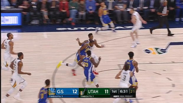 WSC: Kevin Durant Stephen Curry Highlights vs the Jazz