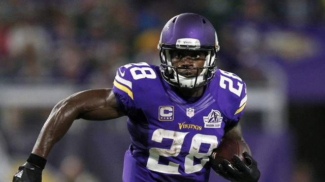 What would happen if Adrian Peterson joined the Buccaneers?