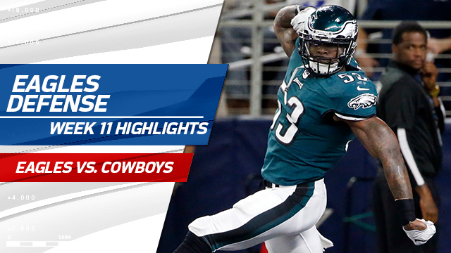 Eagles defense highlights | Week 11