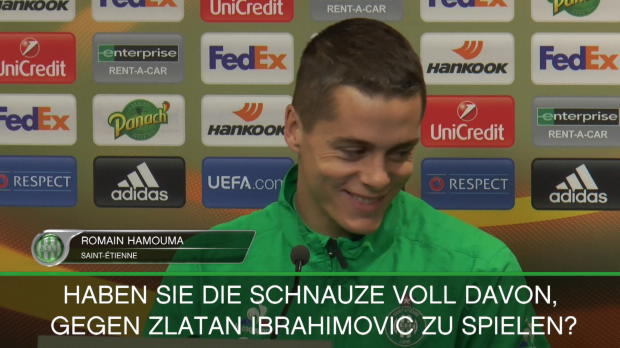 """St. Etienne zittert: """"Sch..., Zlatan spielt!"""""""