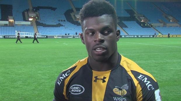 Aviva Premiership - Wasps Christian Wade gunning for Singha Premiership Rugby 7s