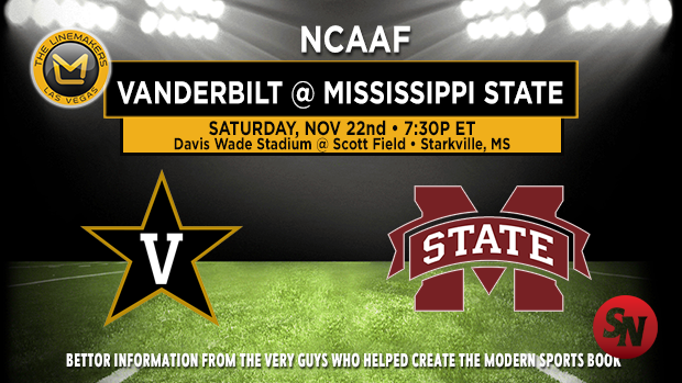 Vanderbilt Commodores @ Mississippi State Bulldogs