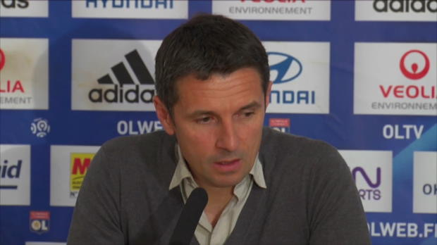 L1 - OL, Garde : 'Un carton rouge s�v�re'