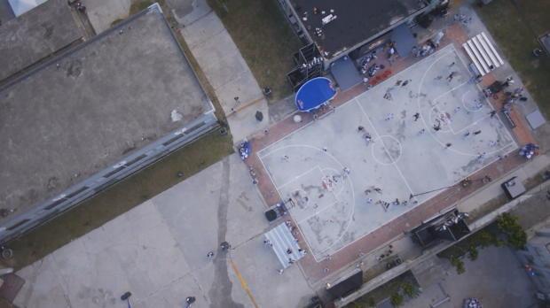 King of the Rock: Streetball auf Gefängnisinsel