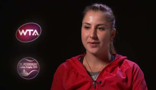 Bencic Interview: WTA St Petersburg Final