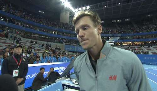 Berdych Interview: ATP Beijing Final