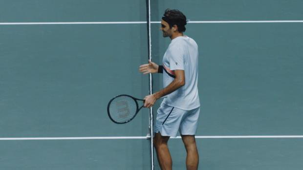 Rotterdam: Federer will dominant auftreten