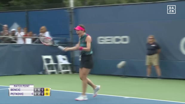 Washington: Petkovic gewinnt Thriller
