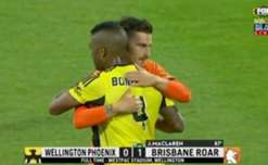 A late Jamie Maclaren goal saw Brisbane Roar claim a 1-0 win over Wellington at Westpac Stadium on Saturday.