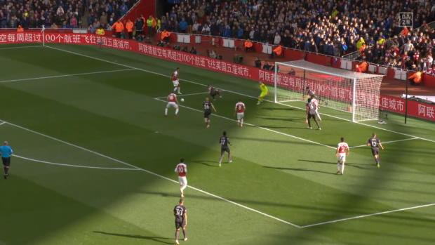 Premier League: Arsenal - Everton | DAZN Highlights