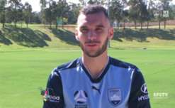Sydney FC have signed young Australian attacking midfielder Anthony Kalik on a season long loan from Croatian club Hajduk Split, with the teenager passing a medical and signing the contract this afternoon.